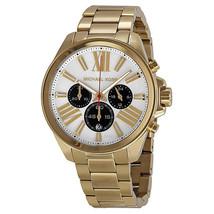 Michael Kors 5838 Silver Dial Gold-tone watch - $69.00