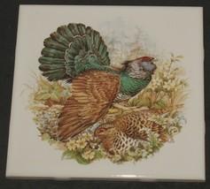 "Vintage Pair of Woodland Birds 6"" Porcelain Accent Dal-Tile Estate Sale - $8.91"