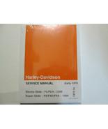 1977 1978 Harley Davidson Electra Super Glide Service Repair Shop Manual... - $178.19
