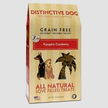 Dog Treat, Pumpkin Cranberry Crisp Training Grain Free Natural Dog Treat - $36.99