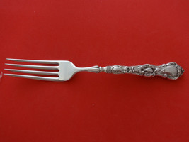 "Floral by Wallace Plate Silverplate Luncheon Fork HH 7 1/8"" - $29.93"