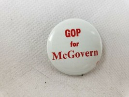 1972 GOP for McGovern George McGovern Presidential Election Campaign Pin  - $5.88