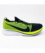 Nike Zoom Fly Flyknit Black Volt White Mens Running Shoes Size 14 BV6103... - $89.95