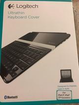 Logitech Ultrathin Wireless Bluetooth Keyboard/Cover Case iPad - $39.55