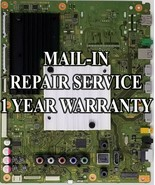 Mail-in Repair Service For Sony XBR-65X850E Main Board - $195.00