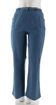 Denim Co Tall Orig Waist Stretch Denim Pull-On Pants Denim S NEW A69563 - $21.76