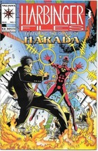 Harbinger Files Comic Book #1 Valiant Comics 1994 NEW UNREAD NEAR MINT - $3.99