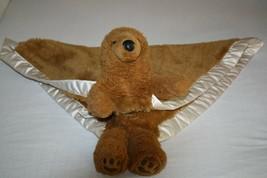 My Banky Brown Bear Security Blanket Plush Soft Toy Stuffed Fuzzy Satin ... - $38.67