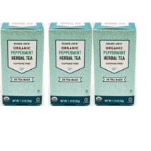 Trader Joe's Organic Peppermint Herbal Tea - 2 or 3 Pack  - $11.82+