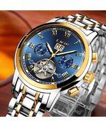 LIGE Mens Watches Top Brand Luxury Automatic Mechanical Watch Men dress ... - $59.26+