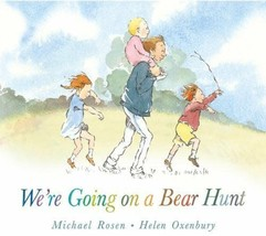 Preschool Bedtime Story Book - WE'RE GOING ON A BEAR HUNT by Michael Ros... - $7.86