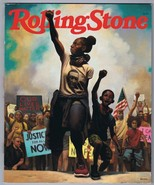 ORIGINAL July 2020 Rolling Stone Magazine Kadir Nelson Black Lives Matter - $46.53