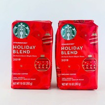2-Pack Starbucks Holiday Blend 2019 Limited Edition Ground Coffee 11 oz New - $29.65