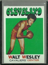 1971-72 Topps Set Break #52 Walt Wesley Cavaliers EX-MT Free Shipping - $2.99
