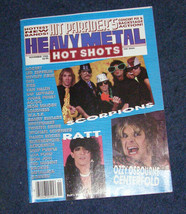 Ozzy Osbourne Scorpions Ratt Led Zeppelin Hit parader heavy metal rock s... - $12.99