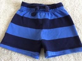 Circo Boys Navy Blue Striped Shorts 18 Months  - $4.50