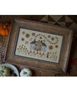 Cinnamon Stars cross stitch chart Plum Street Samplers  - $9.00
