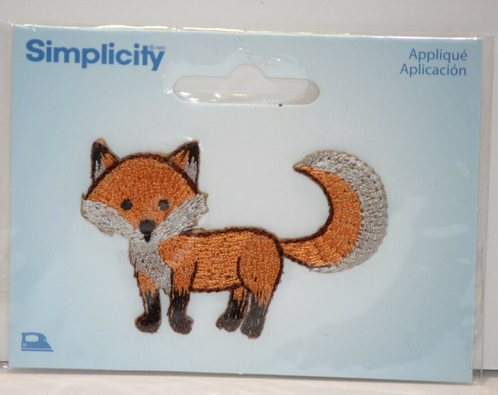 Primary image for Fox Iron On Embroidered Applique Patch Simplicity
