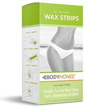 Hair Removal Wax Strips Face, Underarms & Bikini, 24 Count image 2