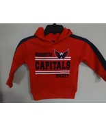 NWOT Washington Capitals Hoodie Sweatshirt Child 3T NHL Official Merchan... - $16.70