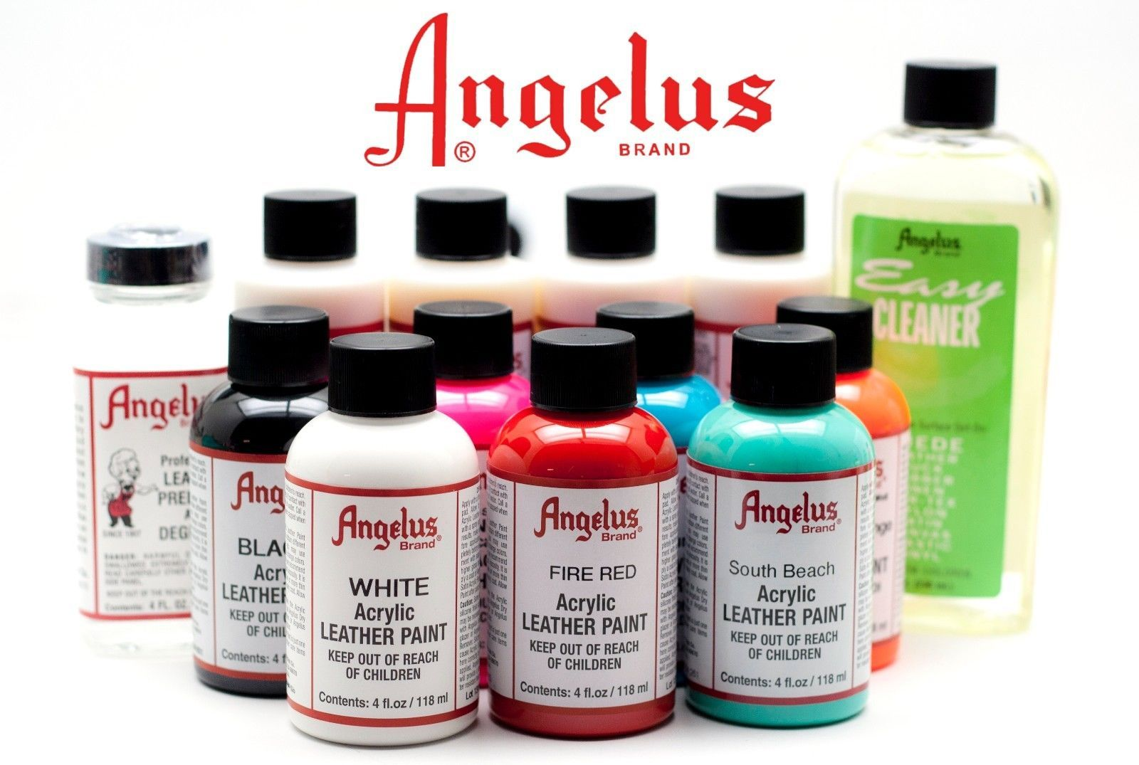 Angelus Brand Acrylic Leather Paint Waterproof 1oz