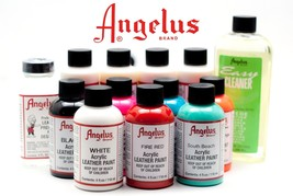 Angelus Brand Acrylic Leather Paint Waterproof 1oz - $3.99