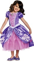 Licensed Disney Sofia The Next Chapter Deluxe Toddler Girl Halloween Cos... - $19.79