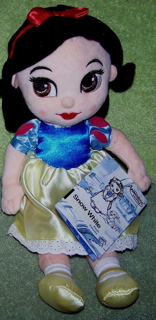 "Primary image for Disney Animators' Collection Plush SNOW WHITE 12"" Doll NWT"