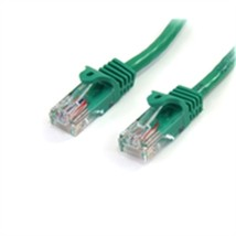 StarTech Cable 45PATCH3GN 3feet Cat5e Green Snagless RJ45 UTP Patch Cabl... - $18.72