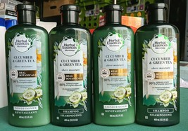 Lot 4 Herbal Essences Bio:Renew Cucumber Green Tea Shampoo Conditioner B... - $15.88