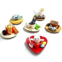 4pcs Dessert Decoration Cat Miniatures Cute Fairy Garden Moss Terrarium ... - $15.99
