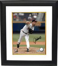 John Smoltz signed Atlanta Braves 8x10 Photo Custom Framed (white jersey)- MLB H - $116.95