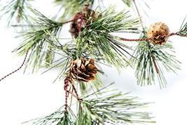 CraftMore Smokey Pine Garland with Rusty Bells 6' image 2