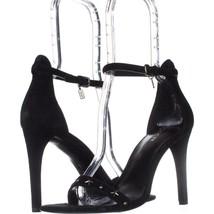 Coach Melrose Ankle Strap Star Studded Sandals, Black, 8 US - $72.95