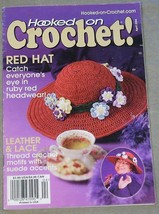 Hooked on Crochet April 2004  Featuring Leather and Lace - $4.46