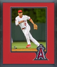 Andrelton Simmons 2016 Anaheim Angels -11x14 Team Logo Matted/Framed Photo - $42.95