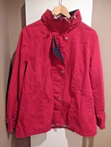 Weather Tamer Zip-up Jacket - Women's XL - Red - Pristine Condition - $12.07