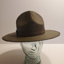 Campaign Hat The Lawman Genuine Milan Police Trooper Military sz 7 3/8 - 59  - $43.00