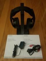 Sony MDRRF985RK Wireless Over-the-Ear RF Headphones MDR-RF985RK Working - £29.57 GBP