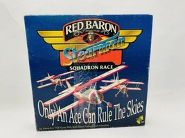Red Baron Stearman Squadron Race VCR Game Interactive Paws & Play Board ... - $22.99