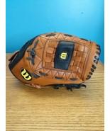 "Wilson 11.5"" Ecco Leather Pro 500 Baseball Glove Mitt A0500 P15  - $14.80"