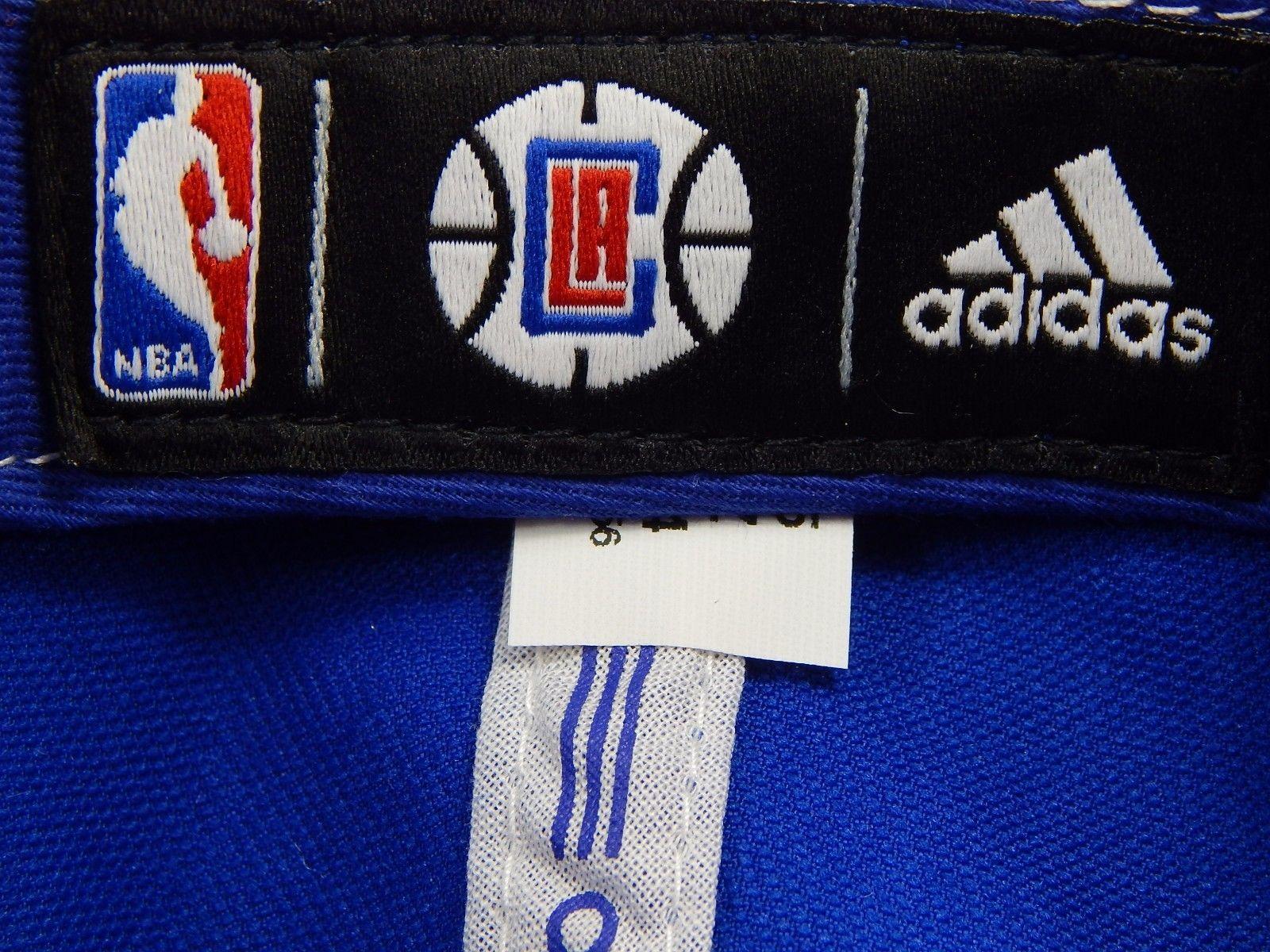 Los Angeles LA Clippers Adidas NBA Snap Back Curve Brim Cap Hat Red / Blue