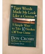 Better Golf by Steve Newel Pictorial Soft Cover Tiger Woods 1999 Hermes ... - $14.80