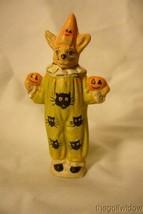 Vaillancourt Folk Art Halloween Clown Rabbit Limited! - $189.99