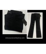 Zara Basic Black Corduroy Pants Juniors Sz 6 - $14.99
