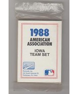 1988 IOWA CUBS PROCARDS TEAM SET NEW SEALED  MARK GRACE - $7.16
