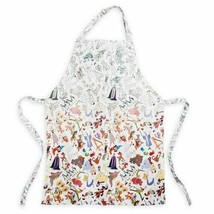 NWT Disney Parks Ink Paint Character Sketch Adult Size Apron Brer Fox and Rabbit - $29.69
