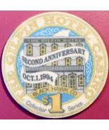 $1 Casino Chip. Gilpin, Black Hawk, CO. 2nd Anniversary. V73. - $4.29
