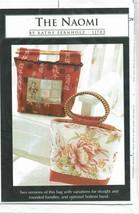 Kathy Fernholz The Naomi Tote Bag Sew Pattern  - $8.09