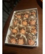 THE MANY MOODS OF FARRAH FAWCETT Original 1977 Majors Dolls Heads Art Bo... - $138.55